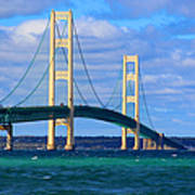 The Mackinac Bridge Poster