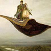 The Magic Carpet Poster by Apollinari Mikhailovich Vasnetsov