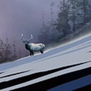 The Magnificent Elk Poster