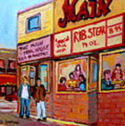 The Main Steakhouse On St. Lawrence Poster