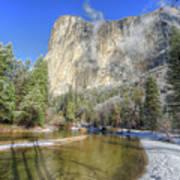 The Majestic El Capitan Yosemite National Park Poster
