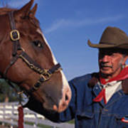 The Marlboro Man In Ocala Florida Poster