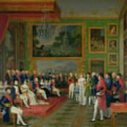 The Marriage Of Eugene De Beauharnais Poster by Francois Guillaume Menageot