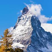 The Matterhorn Mountain Poster