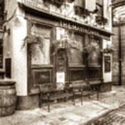 The Mayflower Pub London Vintage Poster