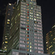 The Mcgraw Hill Building Poster