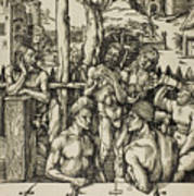 The Men's Bath Poster