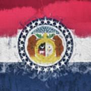 The Missouri Flag Poster