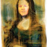 The Mona Lisa Poster