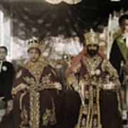 The Monarchs Haile Selassie The First Poster by W. Robert Moore