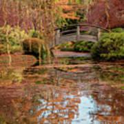 The Monet Bridge Poster