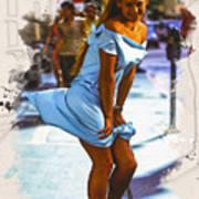 The Monroe Pose  Poster