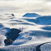 The Monte Rosa Glacier In Switzerland Poster