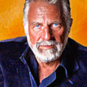 The Most Interesting Man In The World II Poster by Debora Cardaci
