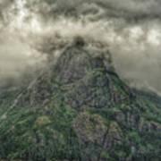 The Mountains Of Alaska  Poster
