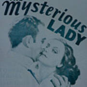 The Mysterious Lady Poster