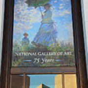 The National Gallery Of Art Is 75 Years Old Poster
