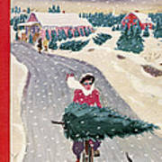 The New Yorker Cover - December 19th, 1942 Poster