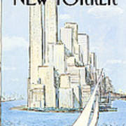 New Yorker July 19th, 1982 Poster