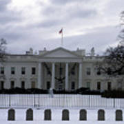 The North View Of The White House Poster