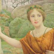 The Nymph Poster by Thomas Cooper Gotch