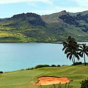 The Ocean Course At Hokuala In Kauai Poster