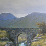 The Old Bridge At Connor Pass Poster
