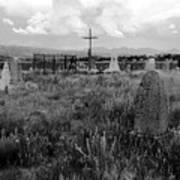 The Old Cemetery At Galisteo Poster