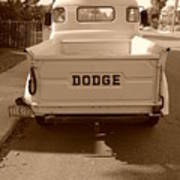 The Old Dodge Poster