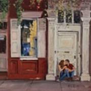 The Old Doorway Poster