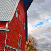 The Old Farmstead Poster