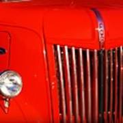 The Old Ford Truck Poster