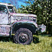 The Old Truck Poster