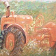 The Ol'e Allis Chalmers Poster by Ron Bowles