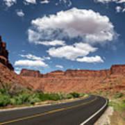 The Open Road - Utah Poster