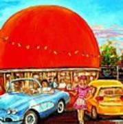 The Orange Julep Montreal Poster