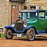 The Original Ford Bronco Poster