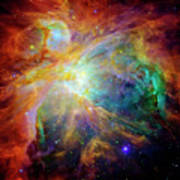 The Orion Nebula Close Up II Poster