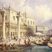The Palaces Of Venice Poster