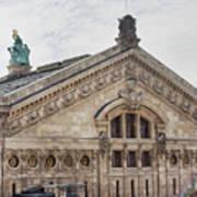 The Paris Opera Art Poster
