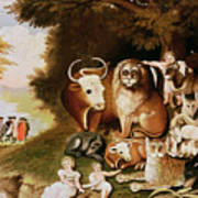 The Peaceable Kingdom Poster by Edward Hicks