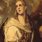 The Penitent Magdalene 1578 Poster