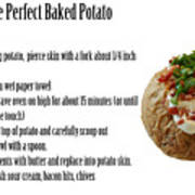 The Perfect Baked Potato Poster