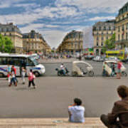 The Perfect View- Avenue De L'opera Paris  Poster