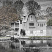 The Peterson Mill In Saugatuck Michigan Poster