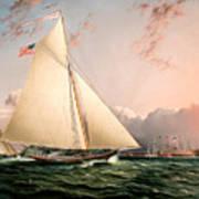 The Philip R. Paulding In New York Harbor Poster