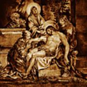 The Pieta Poster by Dino Muradian