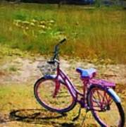 The Pink Bike Poster