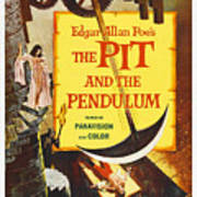 The Pit And The Pendulum, 1961 Poster