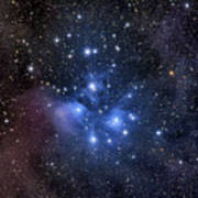 The Pleiades, Also Known As The Seven Poster